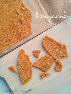 Cocina de Muerte Lenta: Honeycomb (el relleno del Crunchie*)