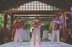 The Mariachis play on at the Royal Service Gazebo in Paradisus Playa del Carmen. Wedding Photography by WeddingDayStory, Destination Wedding Specialists in Mexico, Costa Rica and Dominican Republic. Celebrating the Simple Romance of Weddings in the Sun. http://www.weddingdaystory.com