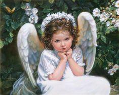 """Portrait Of An Angel"" ~ Sandra Kuck"