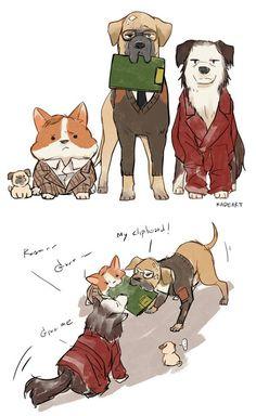 Kingsdog : The Fluffy Service   https://www.facebook.com/KadeartMushroom?fref=photo