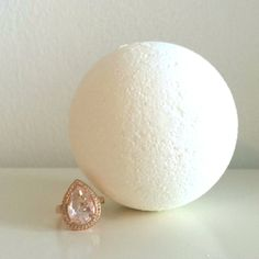 Unscented Bath Bomb -This bath bomb is anything but basic. Unscented with no dye, this handmade bath bomb is all about the almond oil and witch hazel that leaves your skin feeling silky smooth.