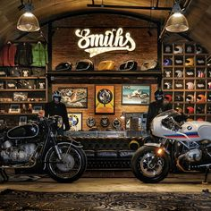 Will Smith, Great Places, Garage, Bmw, Motorcycle, Club, Vehicles, Vintage, Carport Garage
