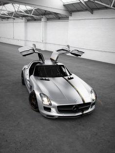 2012 Wheelsandmore Mercedes SLS Silver Wing