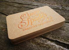 Queen of Spades Business Card