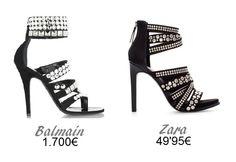 Clones de moda - sandalias Balmain
