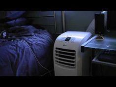LG Electronics 7,000 BTU Portable Air Conditioner with Remote Model # LP0711WNR #airconditioner #homeappliances #review #lg #electronics #portable