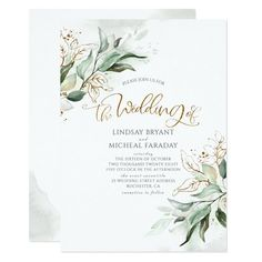 Ad: Romantic calligraphy and eucalyptus greenery wedding invitation #greenery #fall #wedding #botanical #leaves #green #and #white #gold #foil #glitters #sage #wreath #modern #natural #eco #diy #woodland #simple #calligraphy #rustic #country #chic #eucalyptus #grove #foliage #watercolor #spring #floral #garden #plants #minimalist #elegant #boho #summer #herbs #vintage #dreamy #romantic #faded #unique #soft #colors #nature #themed #winter #Invitation Rehearsal Dinner Invitations, Engagement Party Invitations, Simple Wedding Invitations, Rehearsal Dinners, Bridal Shower Invitations, Custom Invitations, Birthday Invitations, Wedding Stationery, Engagement Parties