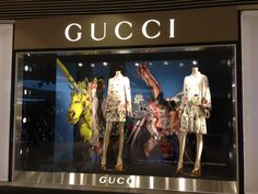 LK By Lincoln Keung: GUCCI Window Display - THE ELEMENT
