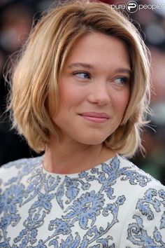 lea seydoux Cannes  | Léa Seydoux sublime, pendant le photocall du film Grand Central à l ...