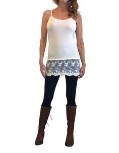 3 Sizes Shirt Extender, Lace Shirt Extender, Top Extender, Tank Top Extender #UptownGirlCo #ShirtExtender