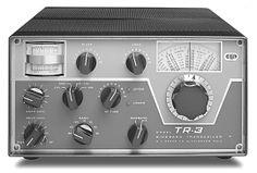 Drake TR-3 Vintage Amateur Radio Transceiver Radios, Radio Amateur, Ham Radio Antenna, Us Cellular, Antique Radio, Two Way Radio, Televisions, Buttons, Vintage