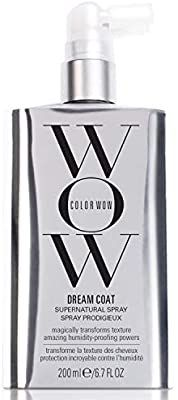 Amazon Com Color Wow Dream Coat Supernatural Spray Anti Humidity Prevents Frizz Heat Protectant 6 Anti Frizz Hair Frizz Hair Treatment Anti Frizz Products