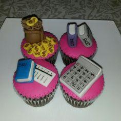 Accountant Cupcakes