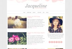 Jacqueline -  A WordPress Theme by Beautiful Dawn Designs on Creative Market