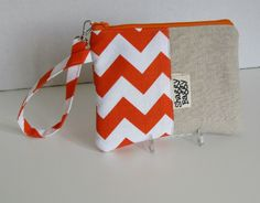 Wristlet, Clutch,  Zipper Pouch by ShaggyBaggy on Etsy
