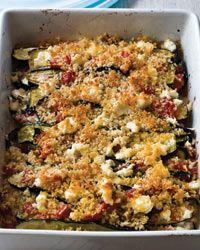 Layered Eggplant, Zucchini and Tomato Casserole Recipe