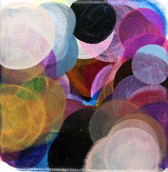 "Saatchi Online Artist: Paula Baader; Acrylic, 2011, Painting ""Circles#10"""