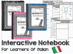 #interactive #notebook for learners of #italian