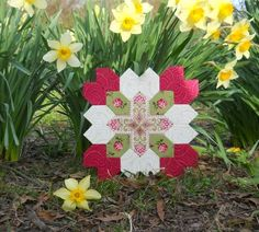 Lucy Boston Patchwork of the Crosses - Sew and Sow Farm- excellent tutorial