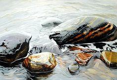 stones-of-the-white-sea-artisturiy-kakichevpaintingsof-russia-com.jpg (520×358)