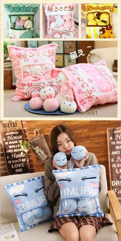 Decorative Bed Pillows 115630: Japanese Sweet Cushion Double Plush Doll Toy Bedding Kawaii Dakimakura #Tr35 -> BUY IT NOW ONLY: $25.63 on #eBay #decorative #pillows #japanese #sweet #cushion #double #plush #bedding #kawaii #dakimakura Sofa Cushion Covers, Bed Duvet Covers, Sushi Plush, Hello Kitty Bed, Winter Bedding, Japanese Sweet, Doll Beds, Throw Pillow Cases, Quilt Cover