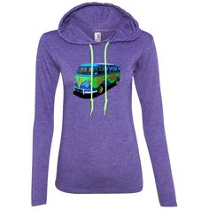 Love VW Campers? The Mystery Machi... is Now Available in Store. Get Yours Here! http://parkedlife.com/products/the-mystery-machine-ladies-ls-t-shirt-hoodie?utm_campaign=social_autopilot&utm_source=pin&utm_medium=pin