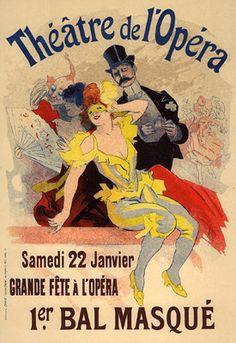 Cheret, Jules - PL. 105 - 1st Bal Masque