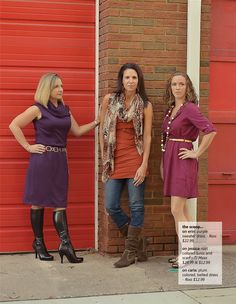 Multiplicity's Fall Fashion, three great outfits