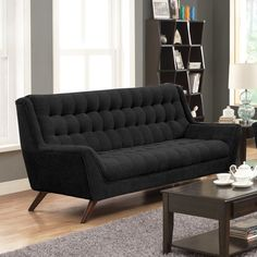 WAITING AREA SOFA Wildon Home ® Modern Sofa   AllModern