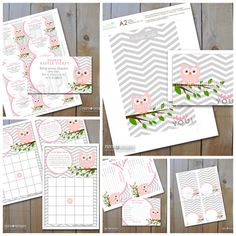 baby shower printables