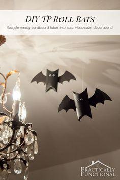 DIY TP Roll Bats
