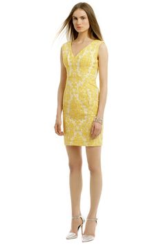 Lemon Cake Sheath by Tracy Reese for $30 | Rent The Runway