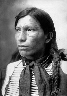 A Lakota man. Early 1900s