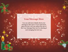 free christmas tmplates | Free Christmas invitation templates: ready to use, printable ...