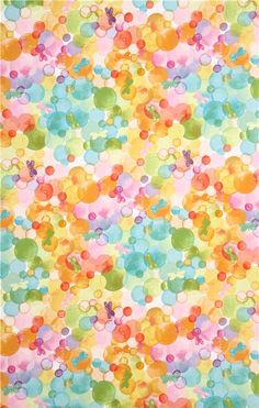 Glee bubbles butterfly fabric Michael Miller USA