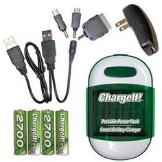 PC Treasures 7456 ChargeIt! Portable Power Pack @Amazon