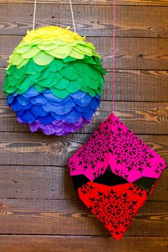 If you want to really make your Cinco de Mayo special, check out these DIY pinata crafts. Make your own pinata with this easy guide! Diy And Crafts, Crafts For Kids, Arts And Crafts, Paper Crafts, Cinco De Mayo Specials, Diy Piñata, Easy Diy, Origami, Party Entertainment