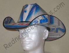 Redneck Beer Hats  made from recycled