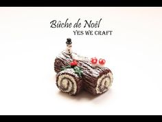 how to: miniature Bûche de Noël