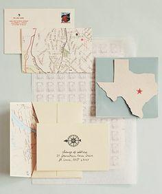 maps invitations