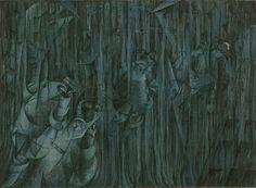Umberto Boccioni. States of Mind III: Those Who Stay. 1911