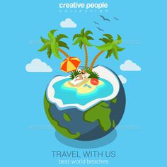 Travel (CS, 3d, beach, beautiful, cartoon, cocktail, coconut, collection, concept, conceptual, flat, globe, hat, holiday, illustration, inflatable, isometric, ocean, palm, ring, rubber, sand, sea, seashore, slippers, template, travel, tree, tropic, tropical, vacation)