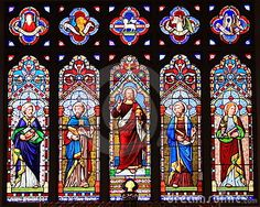 Christ Church in St. Michael's, MD.  I grew up looking at this stained glass window and to this day it's one of the most beautiful series of images I've ever known....