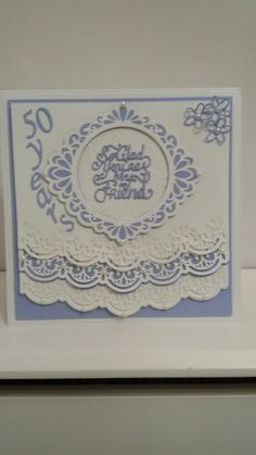 Card I made as a request for a friend using Sue Wilson dies                                                                                                                                                      More