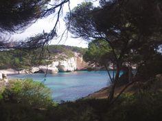 Menorca con niños: playas y consejos Cala Mitjana 3