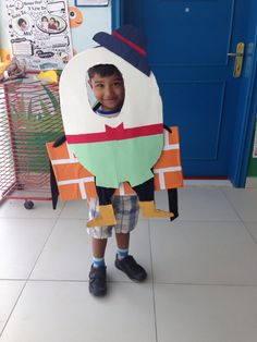 Humpty Dumpty costume DIY