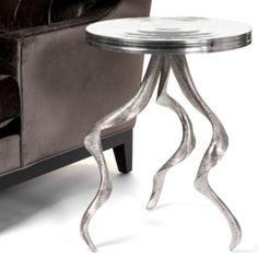 Antler Aluminum Table from Z Gallerie