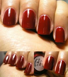3 coats This was an add on to In Style in the UK a couple of years ago, it is a little bit jelly and one of my go to reds. Nails Inc, Berry, Nail Polish, Style, Swag, Nail Polishes, Bury, Polish, Manicure