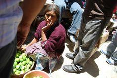 Sælger i Guatemala