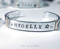 Bracelets For Men, Fashion Bracelets, Cuff Bracelets, Custom Earrings, Custom Jewelry, Unique Jewelry, Engraved Bracelet, Initial Bracelet, Handmade Jewelry Designs